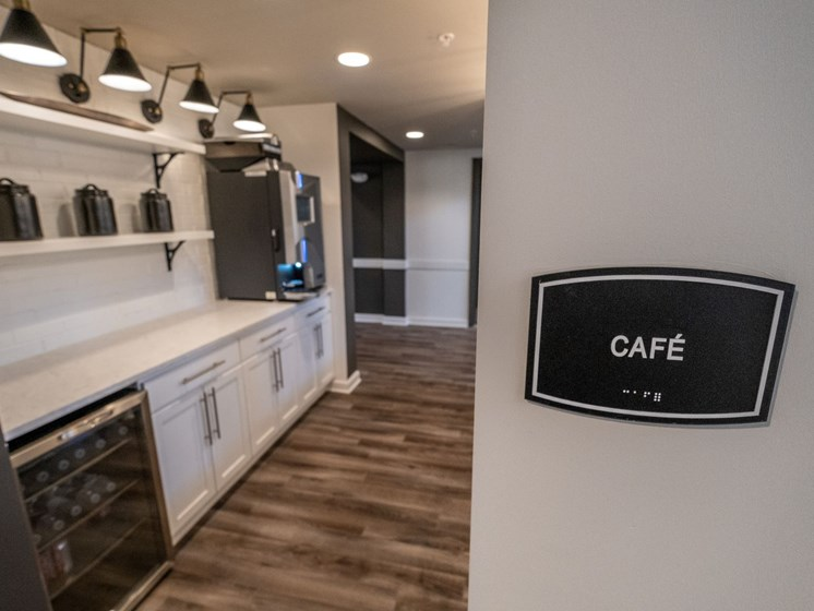 Cyber Cafe With Internet at Abberly CenterPointe Apartment Homes by HHHunt, Virginia