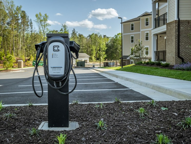 Gas Station at Abberly CenterPointe Apartment Homes by HHHunt, Midlothian