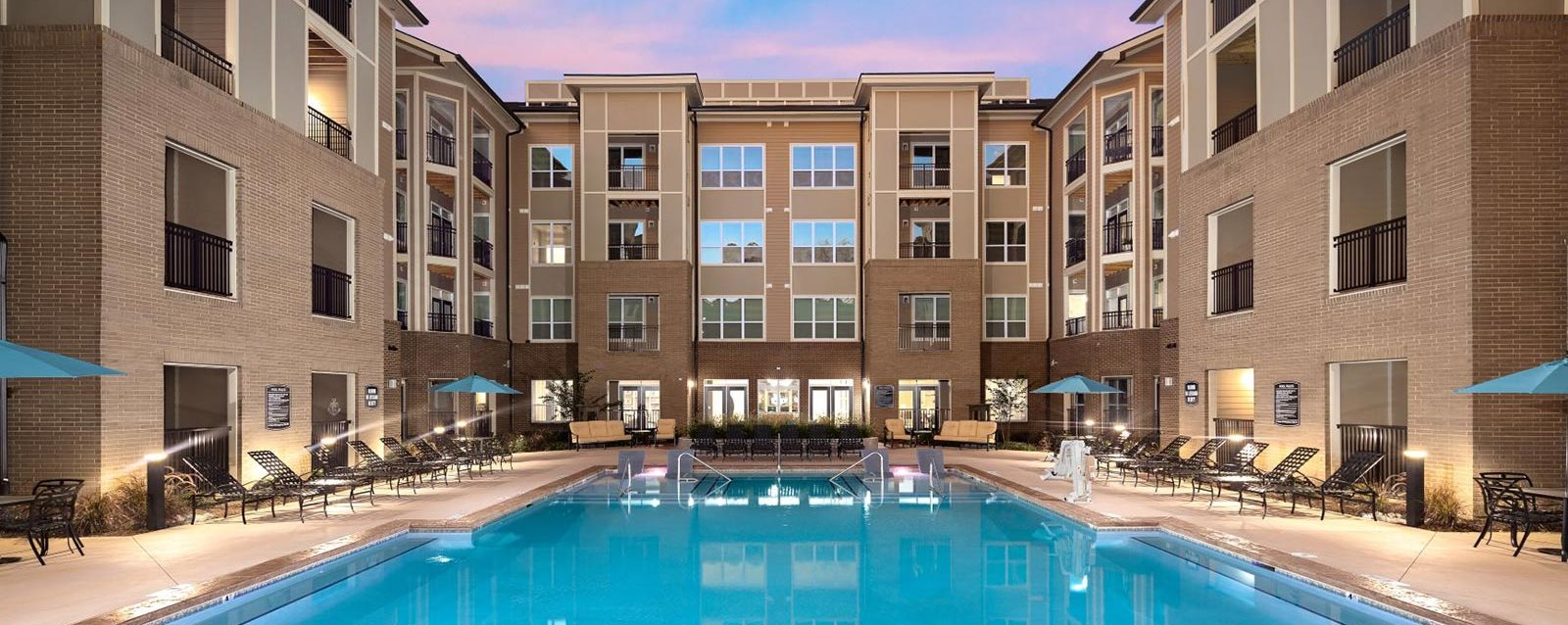Invigorating Swimming Pool at Abberly Solaire Apartment Homes, Garner, NC