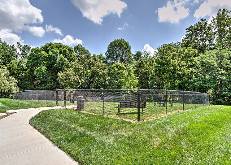 Lush landscaping at Abberly Green Apartment Homes by HHHunt, Mooresville
