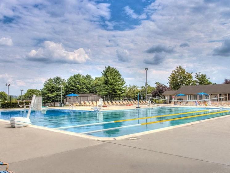 Invigorating Pools at Hethwood Apartment Homes by HHHunt, Virginia, 24060
