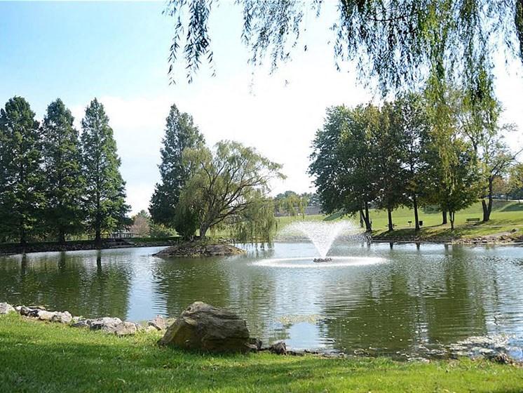 Stunning Lake Views at Hethwood Apartment Homes by HHHunt, Blacksburg, VA, 24060