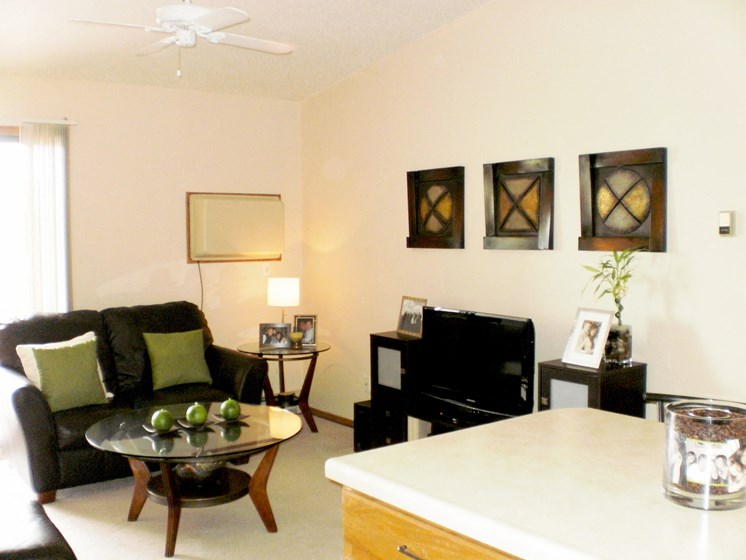 Ashbury Apartments | 2 Bdrm - Living Room