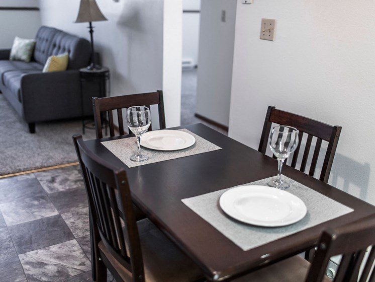 Autumn Apartments | 2 Bedroom | Dining & Living Rm