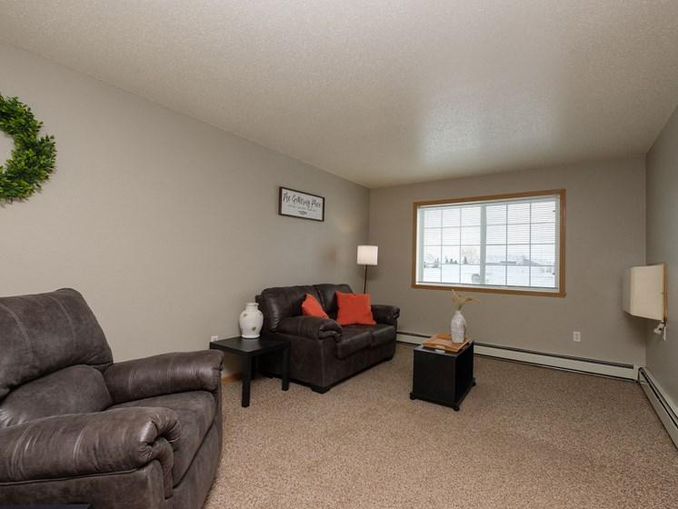 Bluestem Homes  | Living Room