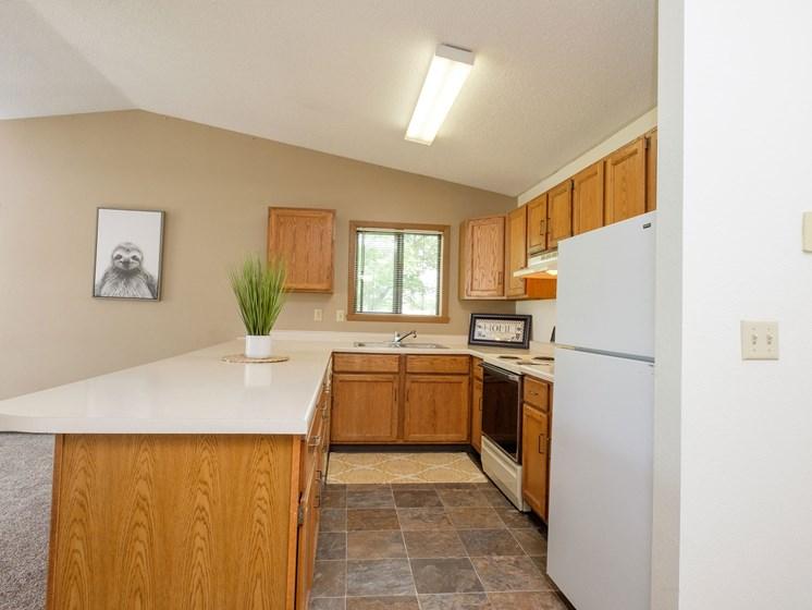 Flickertail I-VI Apartments | 2 Bdrm - Kitchen