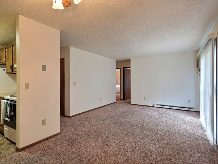 Pacific South Apartments | 2 Bedroom | Living Room
