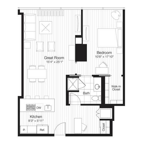 220 East Illinois St., Chicago, IL - 4,043 USD/ month