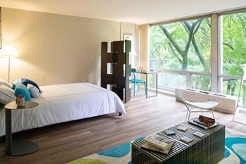 1 Lafayette Plaisance St Studio Apartment for Rent Photo Gallery 1