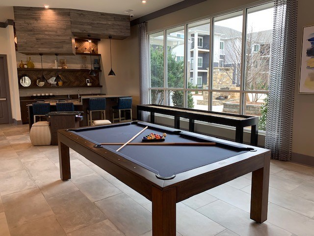 Pool Table at The Haven at Rivergate apartments in Charlotte, NC 28273