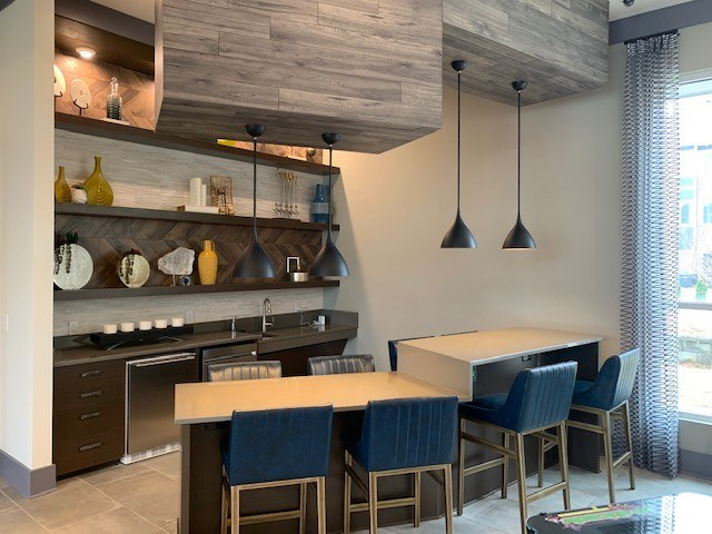 Kitchen at The Haven at Rivergate apartments in Charlotte, NC 28273