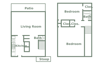 Plan A Two Bedroom