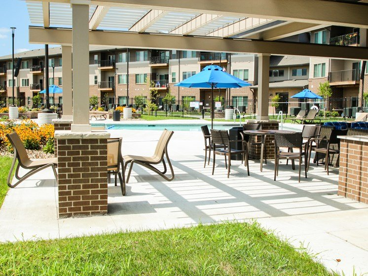 Resort-Style Pool at the Sterling at Prairie Trail in Ankeny, IA
