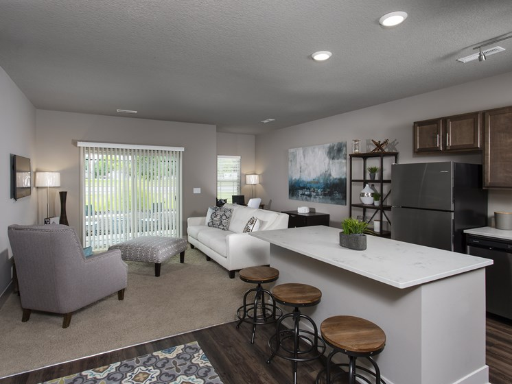 Open Concept Floor Plans at the Sterling at Prairie Trail in Ankeny, IA