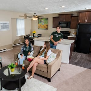 Woodbrook Village Apartments Near Michigan State University