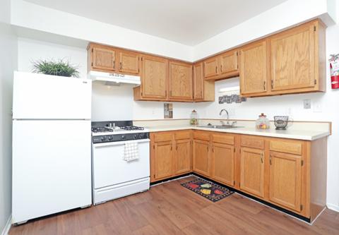 townhome kitchen