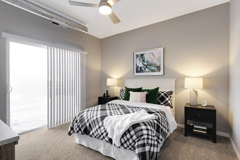 Nuvelo at Parkside Apartments in Apple Valley, MN Bedroom