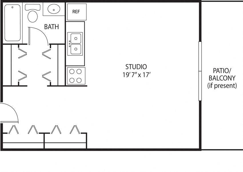 Studio Sunstone Axon Green Apartments