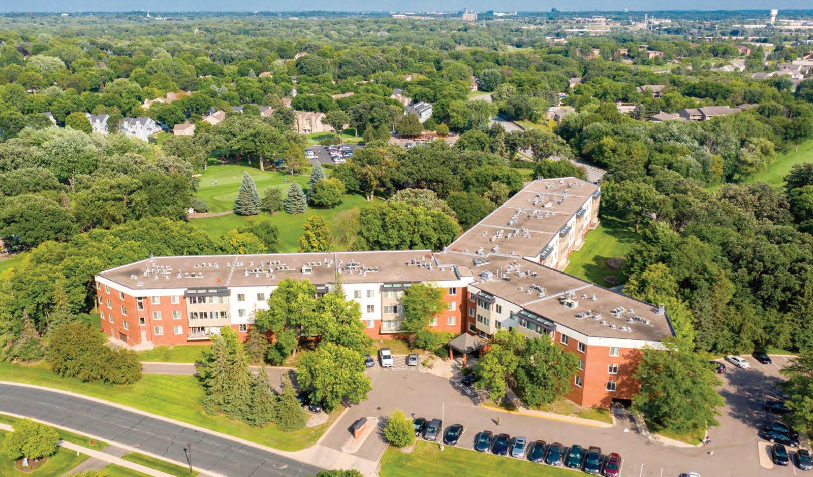 Quail Ridge Building Aerial Photo