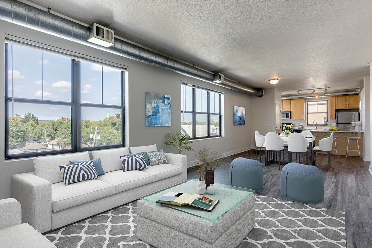Staged Apartment