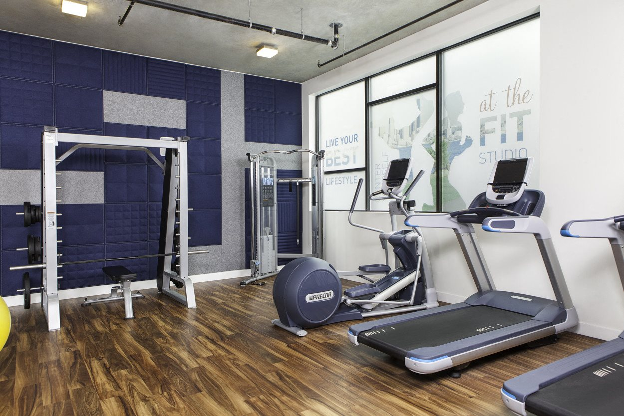 4730 California Apartments Fitness Studio