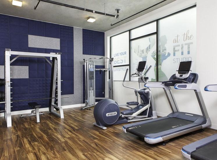 4730 California Apartments Fitness Studio