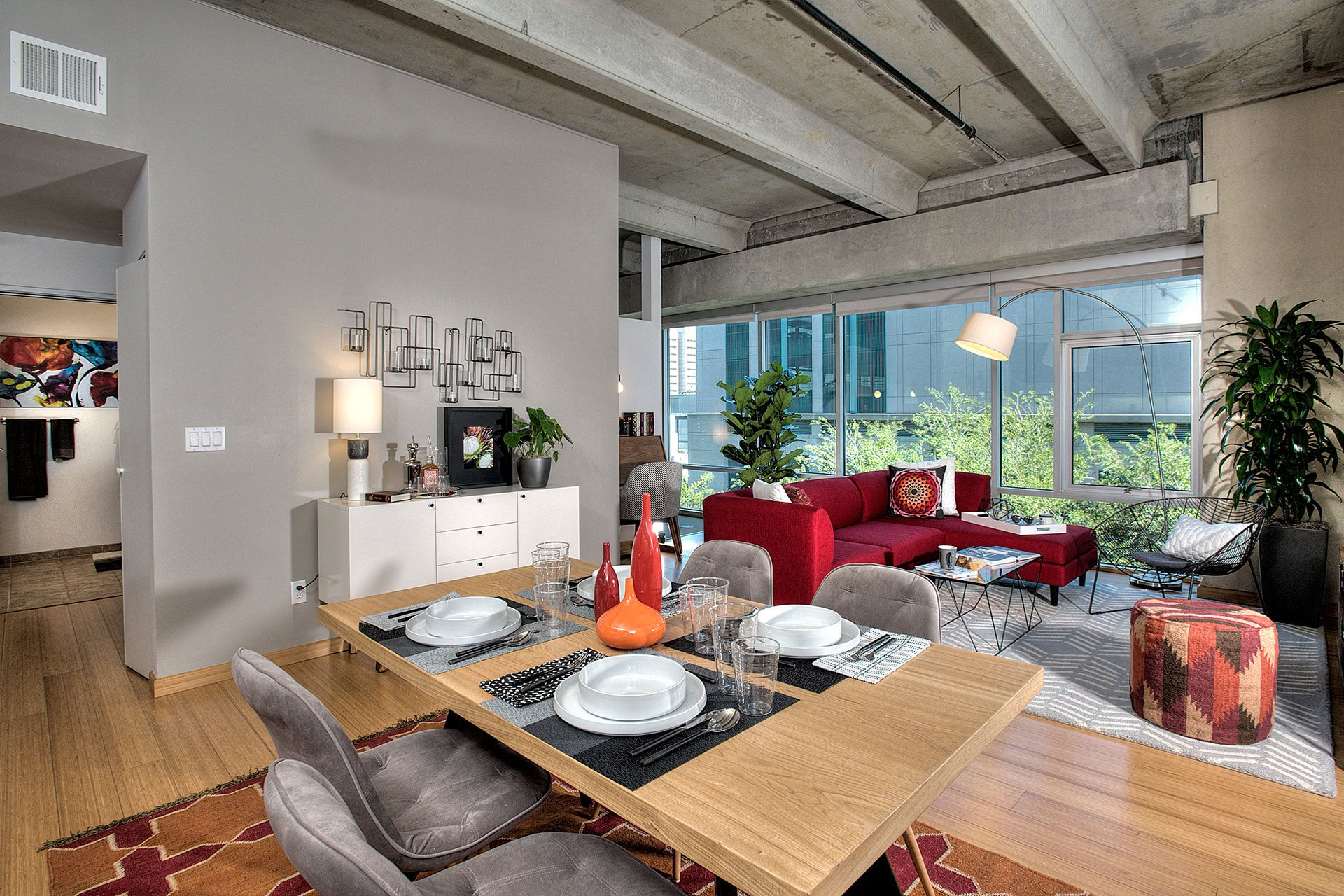 Bright and Open Living Spaces