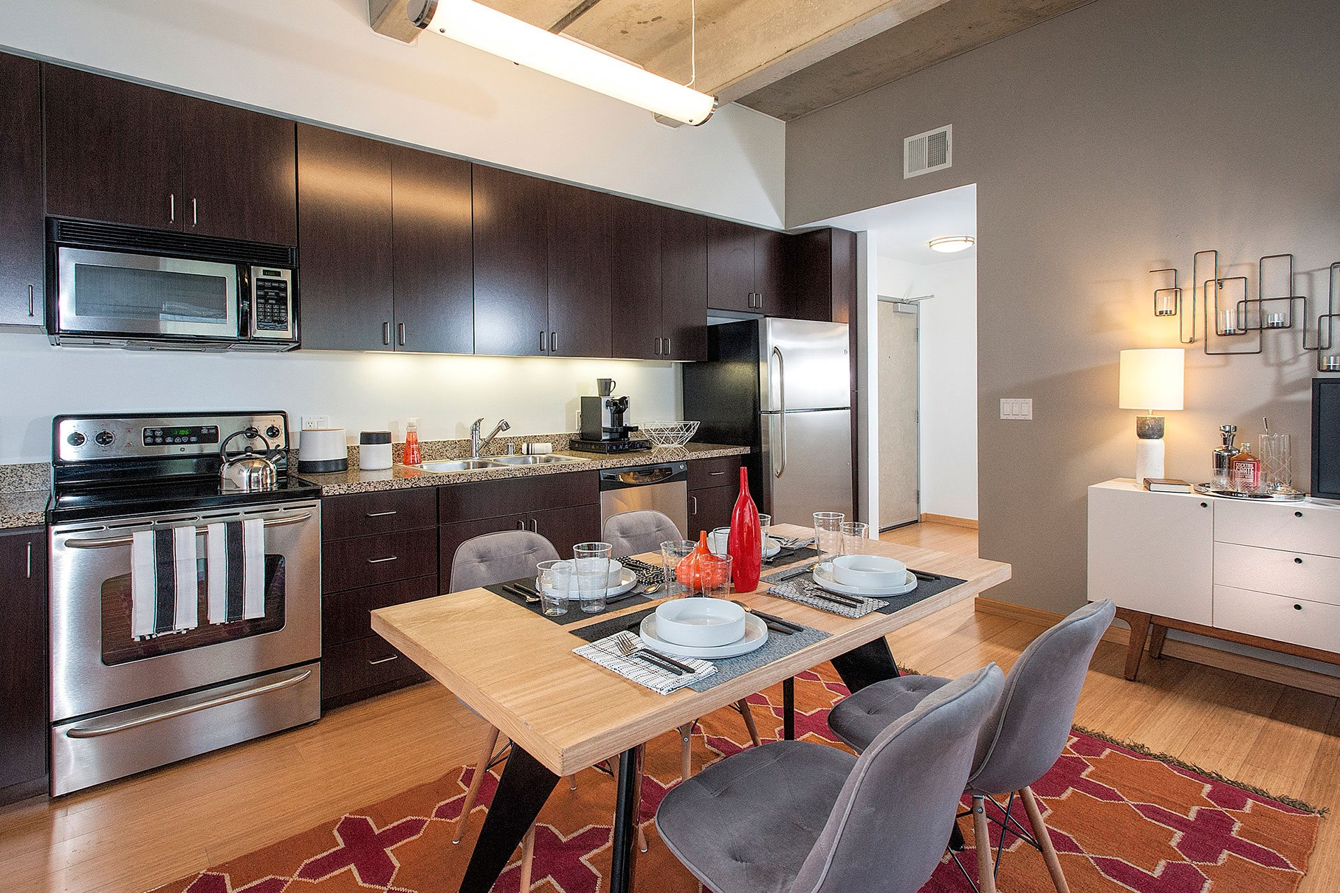 Gourmet Kitchens with Granite Countertops