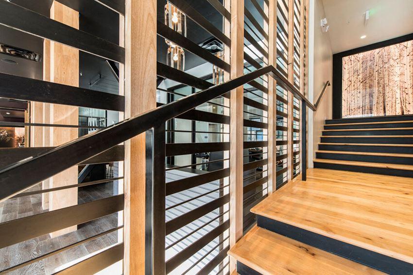 Gunbarrel Center Stylish Stairs