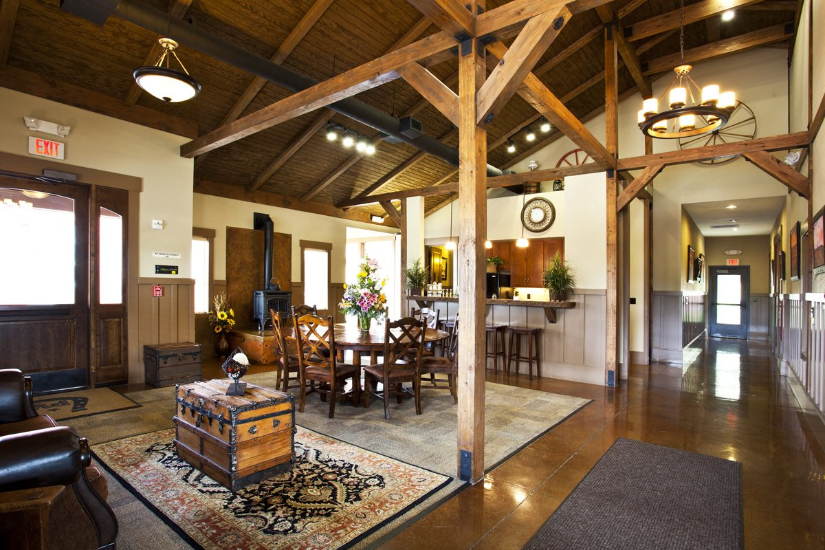 Pine Valley Ranch Apartment Clubhouse Interior