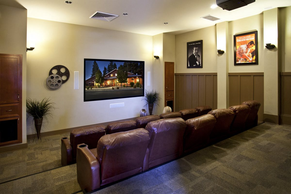 Pine Valley Ranch Apartments Spokane, Washington Community Theater Room