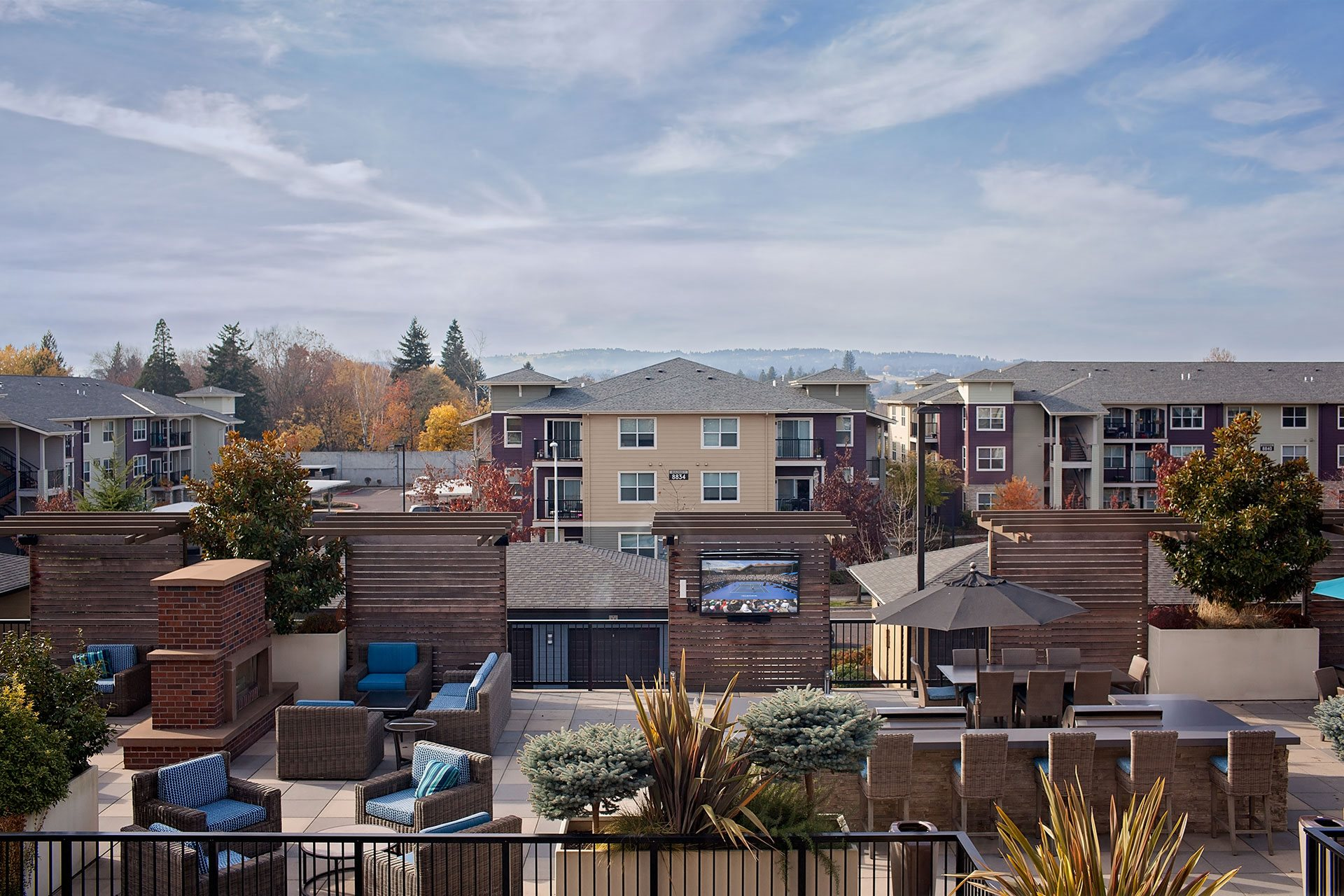 Portera at the Grove_Wilsonville  Sky deck