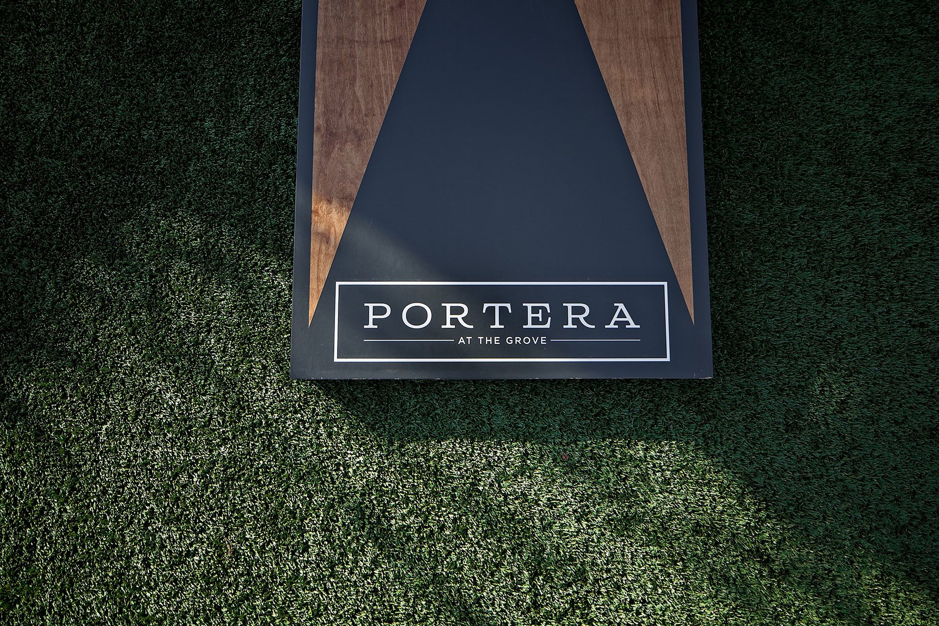 Portera at the Grove_Wilsonville  Corn hole