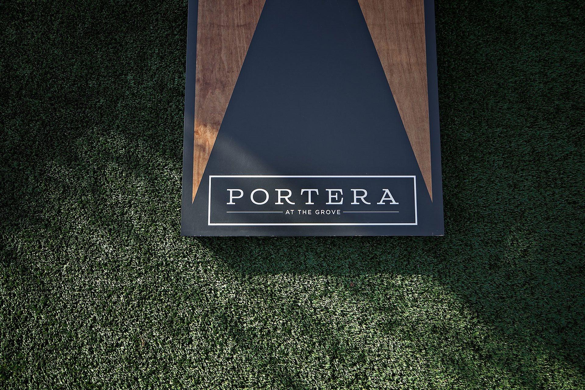 Portera at the Grove_Wilsonville  Corn hole