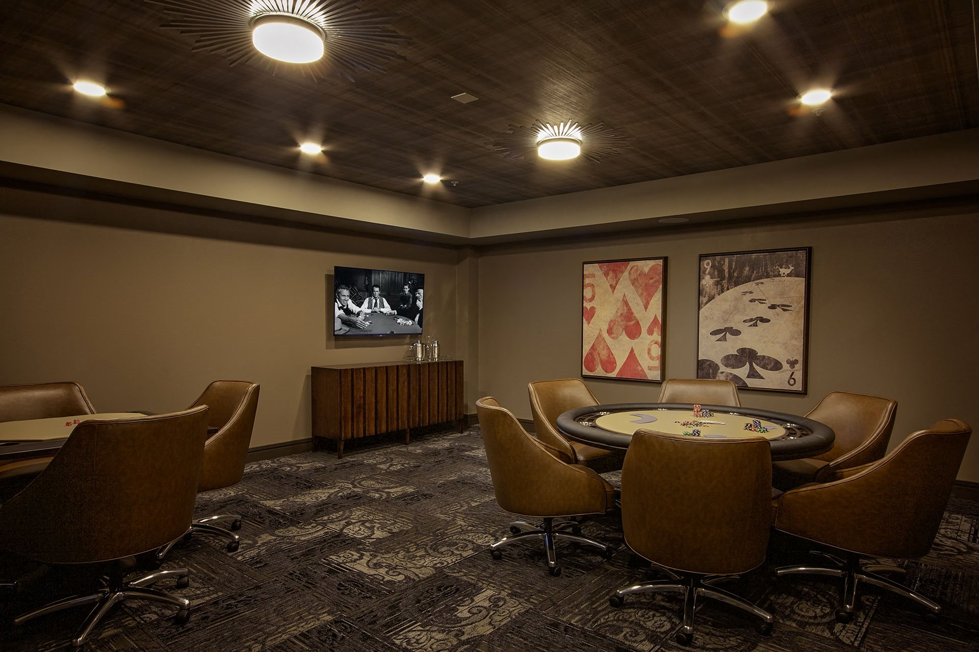 Portera at the Grove_Wilsonville  Card room