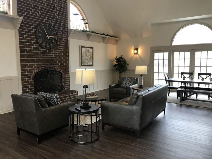 Remodeled Community Building at Hurwich Farms Apartments in South Bend, Indiana