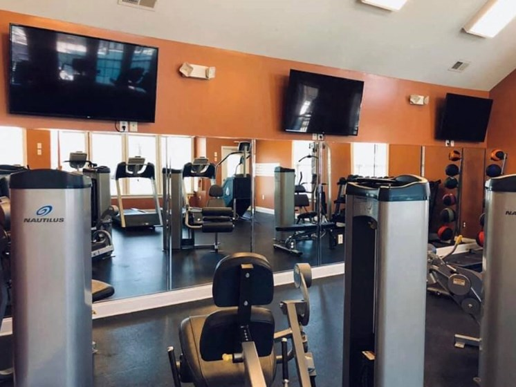 Cardio Machines In Gym at Enclave Apartments, Midlothian, VA, 23114