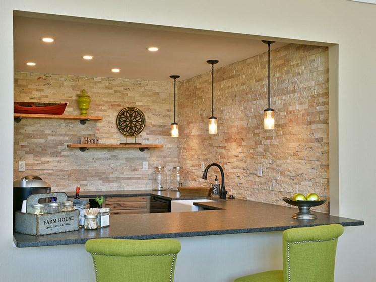 Clubhouse Kitchen at Stone Ridge, Wixom