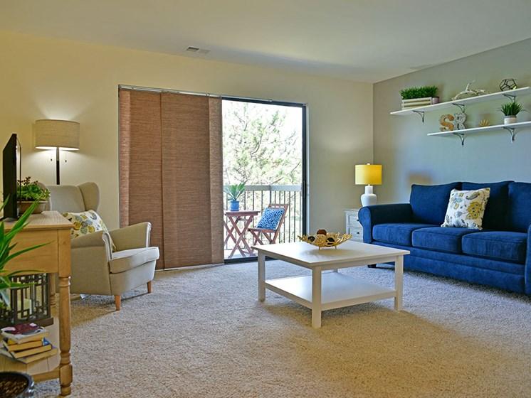 Living Room at Stone Ridge, Wixom, MI, 48393