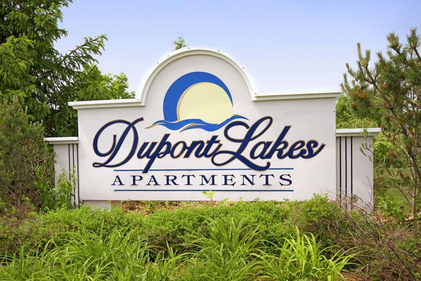 Elegant Property Signage at Dupont Lakes Apartments, Fort Wayne, IN, 46825