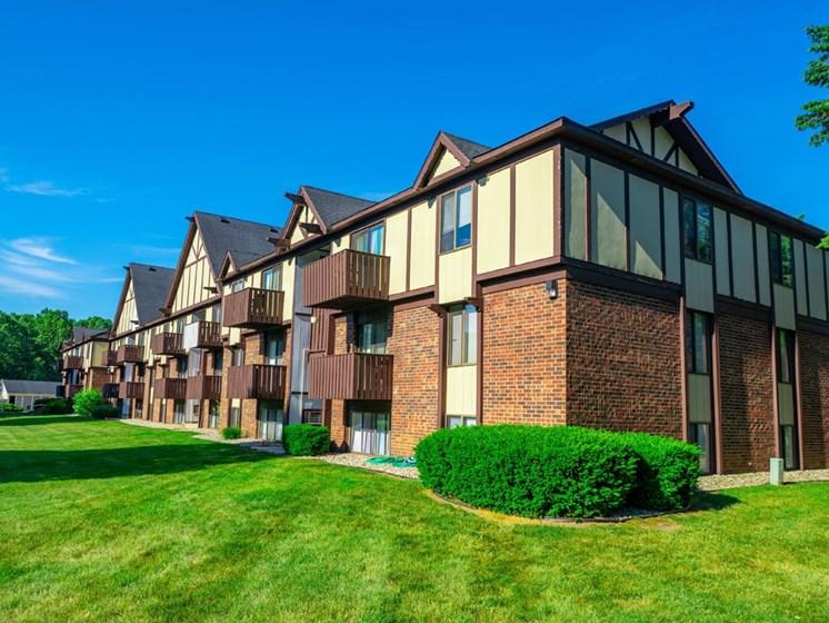 Lush Landscaping at Fairlane Apartments, Michigan, 49037