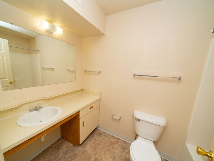 Large Bathroom at Canal 2 Apartments in Lansing, MI