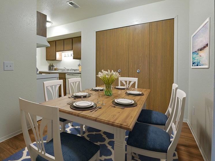 Elegant Dining Room at Huntington Place Apartments, Michigan, 48732