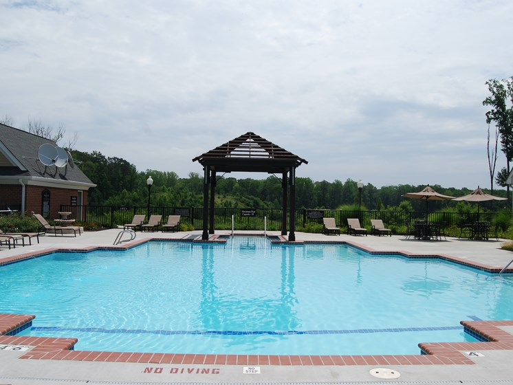 Cool Blue Swimming Pool at Enclave Apartments, Midlothian, VA, 23114