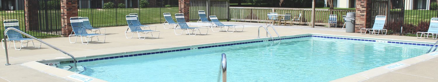 Sparkling Pool with Wi-Fi at Emerald Park Apartments in Kalamazoo, MI