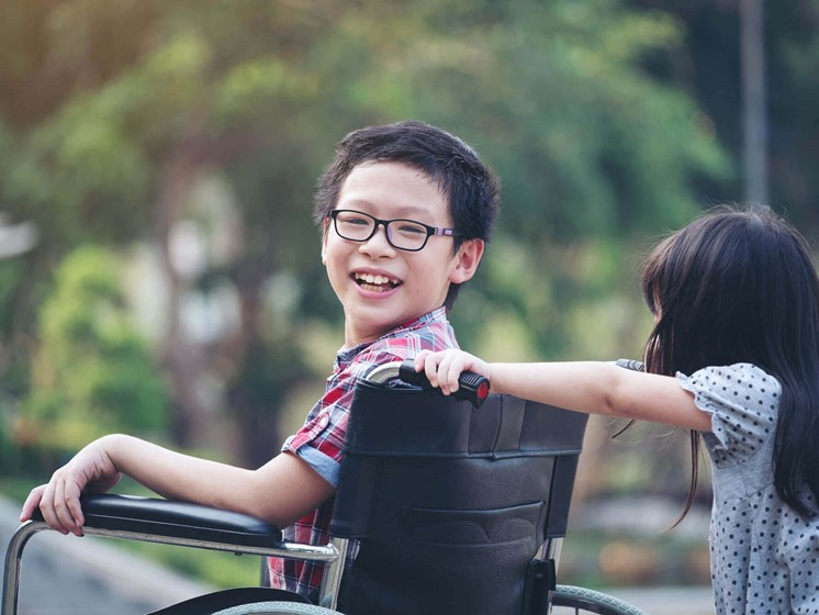 Small Girl and Boy Enjoying Outdoors at Enclave Apartments, Midlothian, 23114