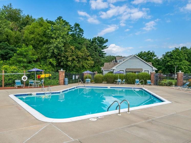 Resort-Style-Pool at Arbor Lakes Apartments, Elkhart