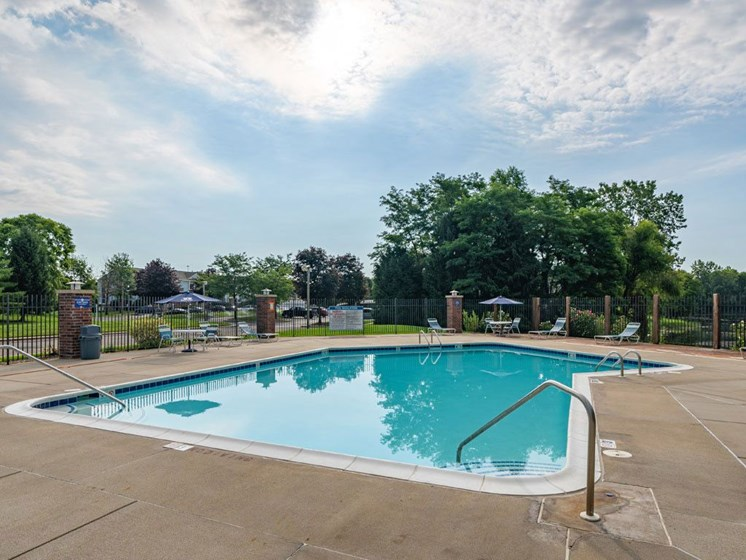 Glimmering Pool at Arbor Lakes Apartments, Elkhart, Indiana