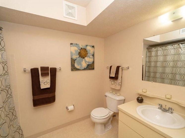 Full Bathroom at Arbor Lakes Apartments, Indiana, 46516