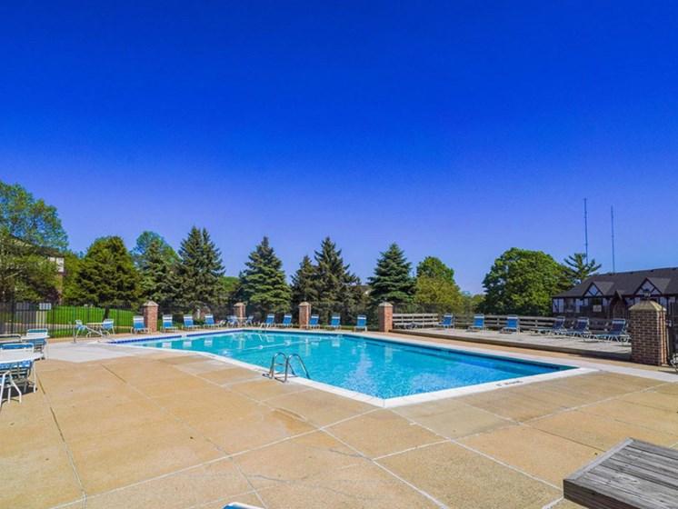 Invigorating Pools at Concord Place Apartments, Kalamazoo, 49009